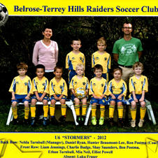 How cute they are when they are young.  Our BTH u6 Stormers back in 2012