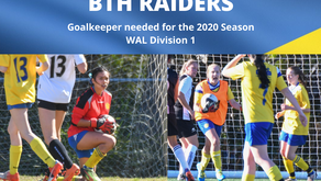 Goal keeper wanted for WAL women's team division 1