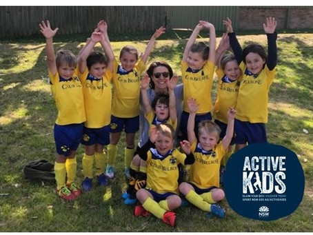 Active Kids Program for 2020