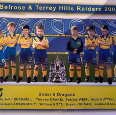 U6 Dragons in 2001 feat Patrick Weir, current BTH PL Coach