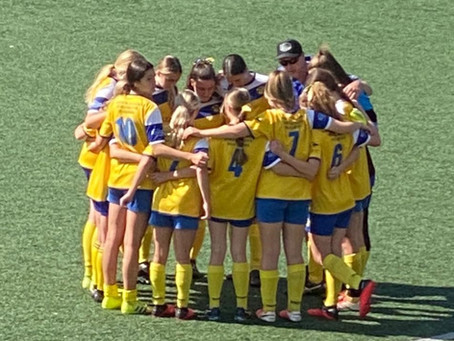 WU16/1 Final Game, 4 October 2020 - 1-1 full time, 5-6 loss on penalties