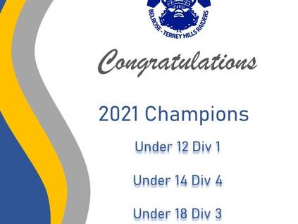 mwfa Champions for 2021