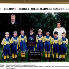 BTH U6 goannas  back in 1998.  Little Mousa still playing after a continual 23 years with BTH.