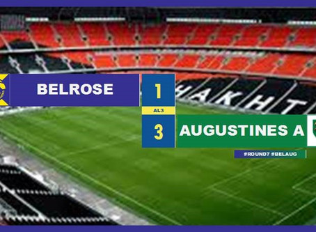 POST MATCH REPORT | AL3s - R7 vs AUGUSTINES (A) at BEACON HILL OVAL 2 at 3PM (HOME GAME)