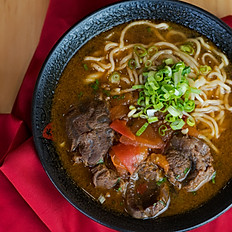 D4.  Beef Noodle in Spicy Broth