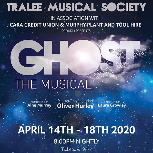 Tralee Musical Society presents GHOST, The Musical