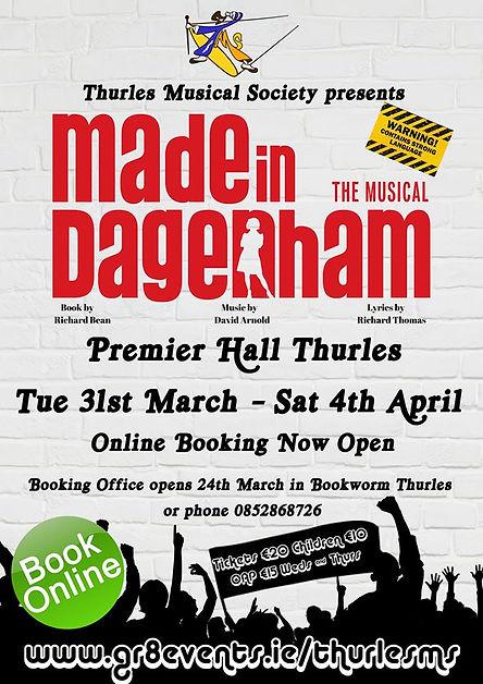 Thurles Musical Society presents MADE IN DAGENHAM