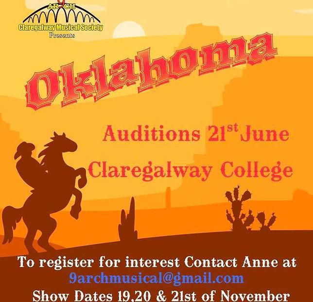 9 Arch Musical Society presents OKLAHOMA