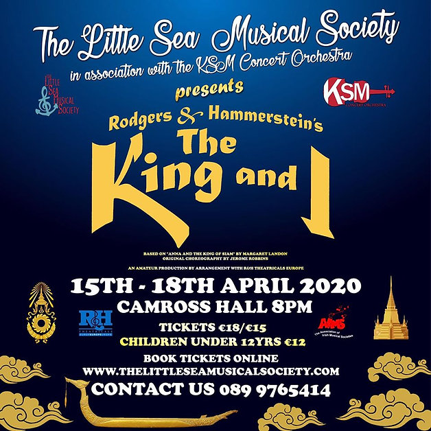 The Little Sea Musical Society presents The King and I