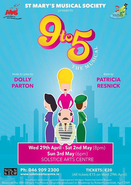 St. Marys Musical Society, Navan presents 9 to 5