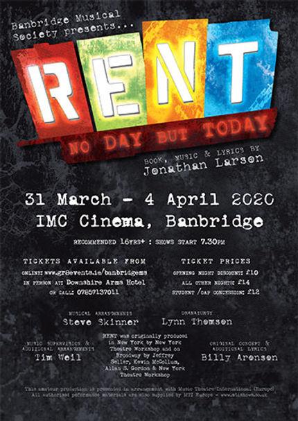 Banbridge Musical Society presents RENT