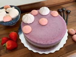 Frozen Berry Cake Newsletter