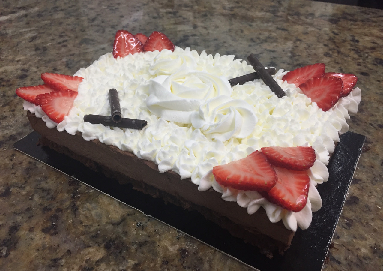 Royal Chocolate Mousse Cake