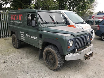 Specialist 4x4 Landrover