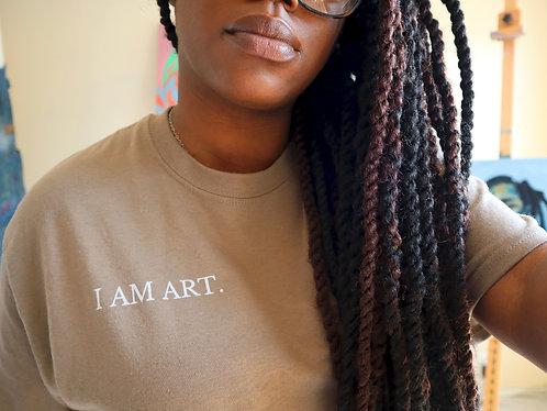"""I AM ART"" Affirmation Tee"