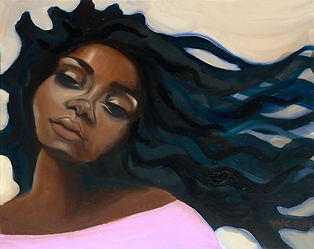 Project Get Free - projectgetfree Tiffany Conway Day Dreamer  oil on canvas Oakland Bay Area visual artist
