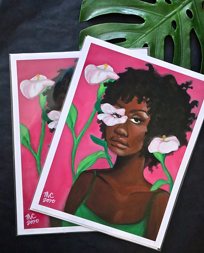 """Blooming in Spite of""  Limited Edition Print"