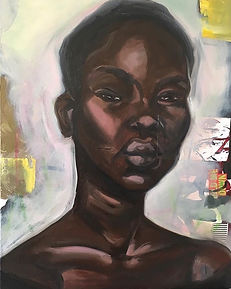 Project Get Free - projectgetfree Tiffany Conway Aweng Study oil on canvas Oakland Bay Area visual artist