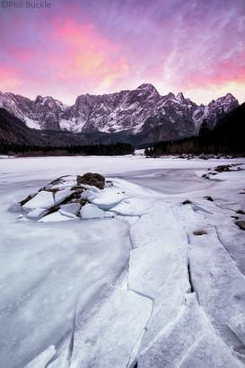 Mangart Lake