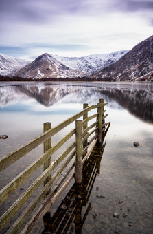 Brotherswater Fence