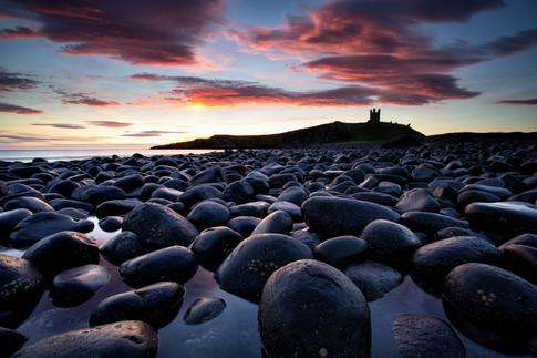 Sunrise Dunstanburgh