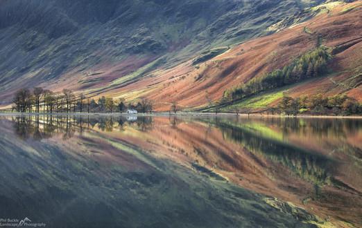 Char Hut Reflections