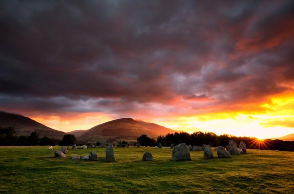 Castlerigg Stone Circle Sunrise