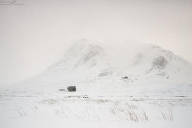Lagangarbh Hut Snowstorm