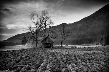 Slovenian Barn
