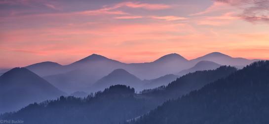 Slovenian Sunset