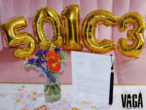 We are officially a 501(c)3!