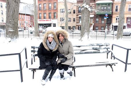 NIKO STORM= Fun in the snow!