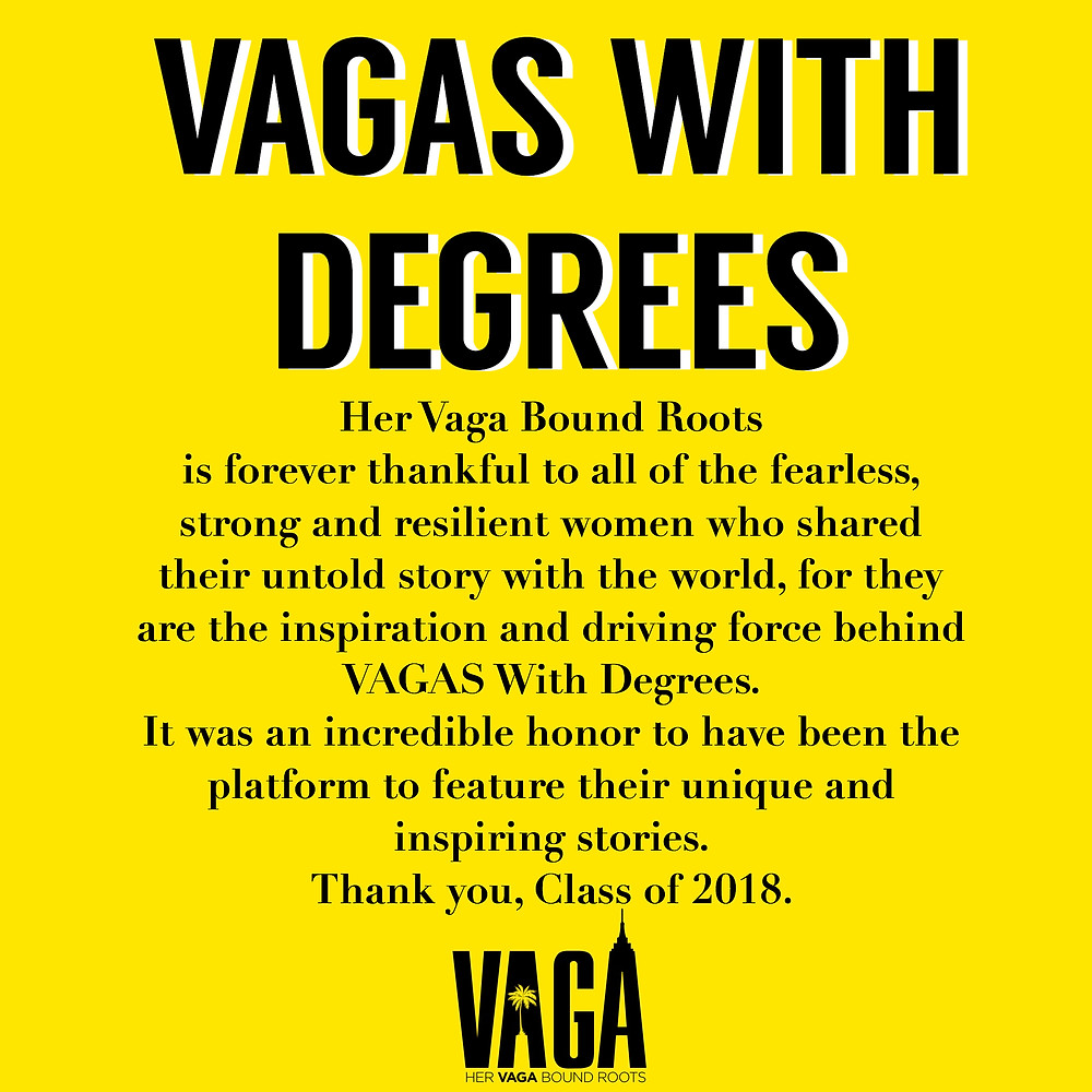 VAGAS WITH DEGREES