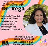 20 Questions With Dr. Vega