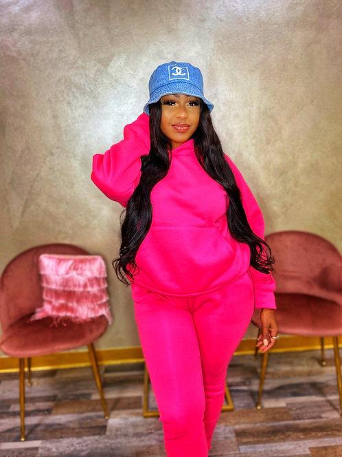 'Tom Girl' Pink Set