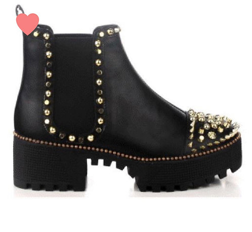 Spiked Out Boot