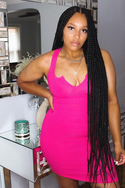 'Kylie' Dress (Pink)