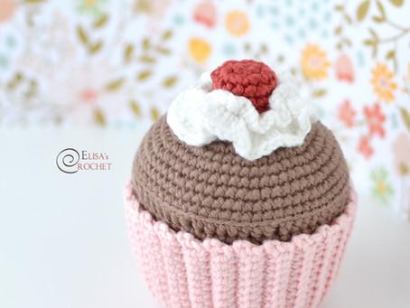 Birthday Cupcake Free Crochet Pattern