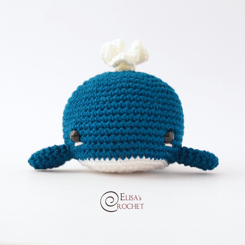 PDF Crochet Pattern Little Whale Digital Download by nonggagreat ... | 1000x1000