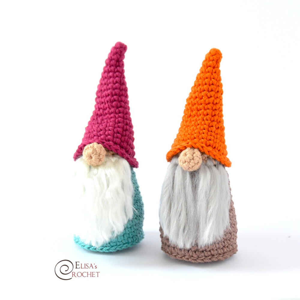 Gnomes Free Crochet Pattern By Elisa S Crochet