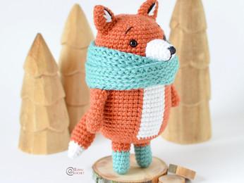 Rudy the Fox Free Crochet Pattern