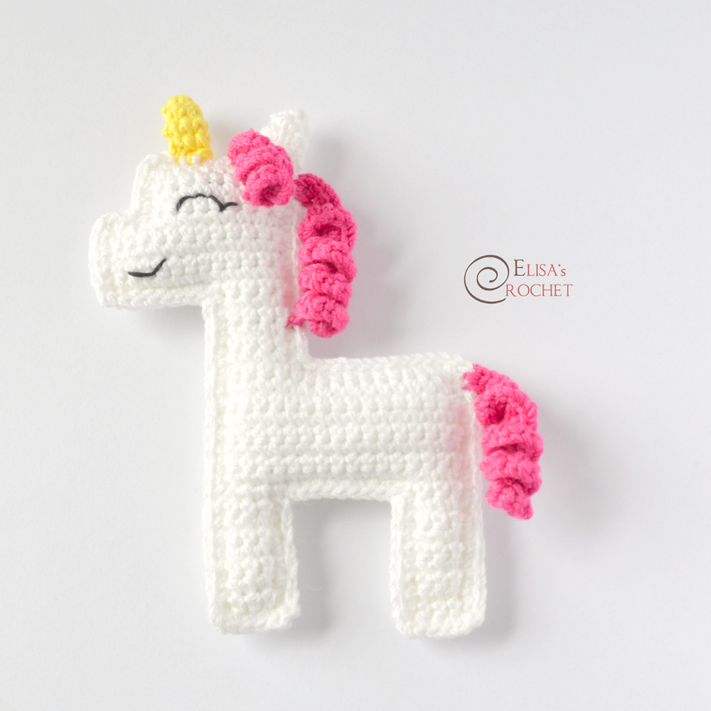 PATTERN: Candi the Unicorn, Crochet Unicorn Pattern, crochet horse ... | 1000x1000