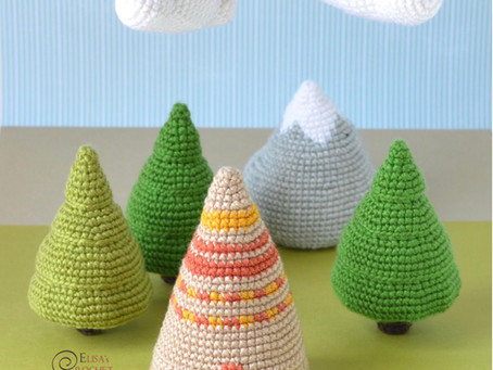 Woodland Crib Mobile Free Crochet Pattern