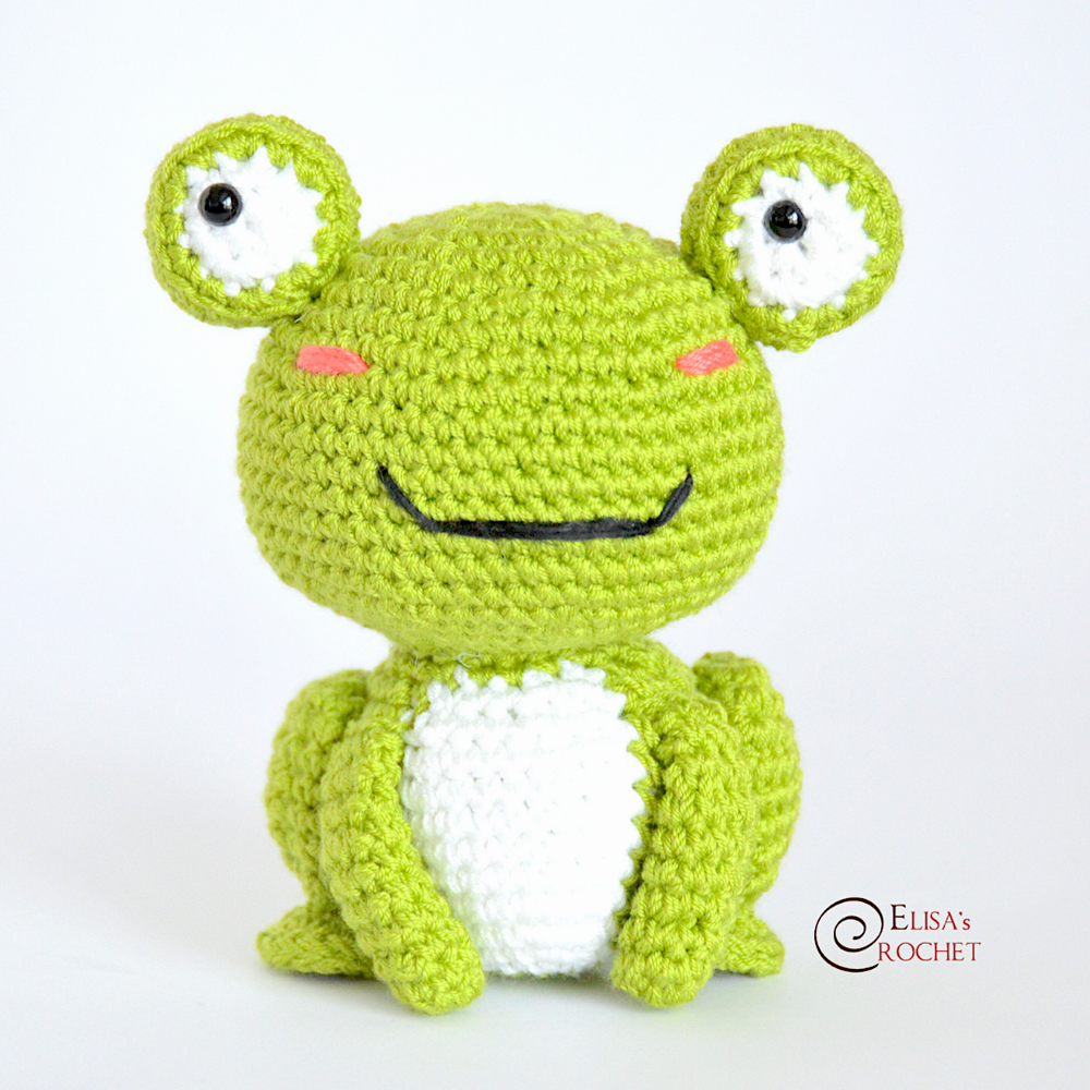 Knitted Toy Props Amigurumi Frog Hat and Toy Crochet Frog Prince ... | 1000x1000