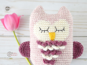 Lily the Owl Free Crochet Pattern