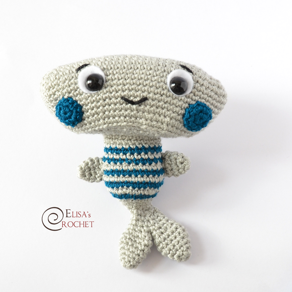 Shark Crochet Pattern Shark Attack Pattern Vanessamooncie Crochet ... | 1001x1000