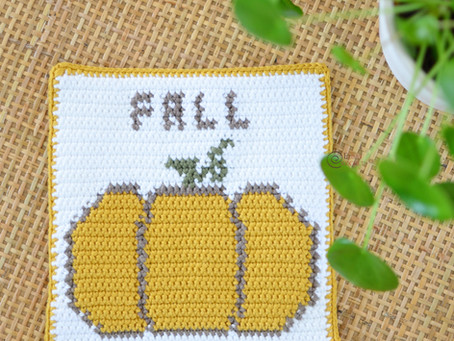 Pumpkin Decor Free Crochet Pattern