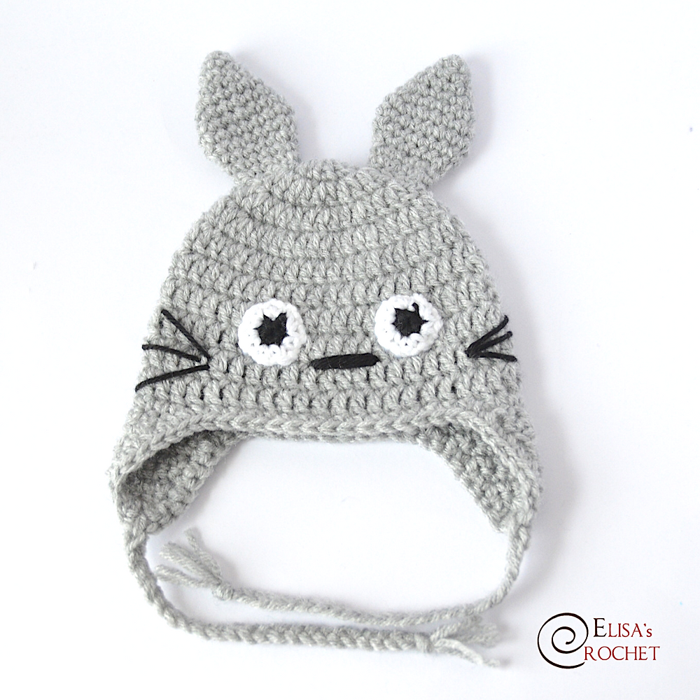 Totoro » 53stitches » Free Amigurumi and Crochet Patterns and ... | 1000x1000