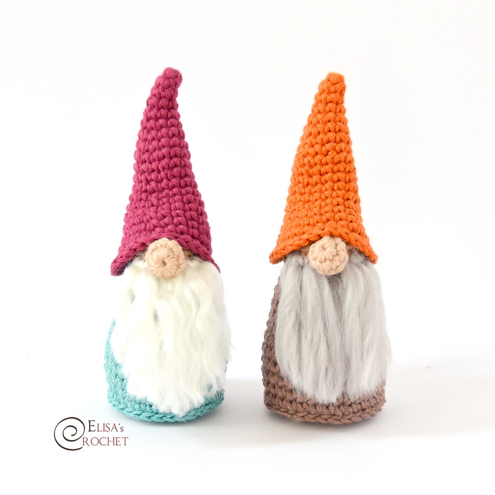 Christmas Gnome - free crochet pattern by Liesbeth Braam ... | 1000x1000