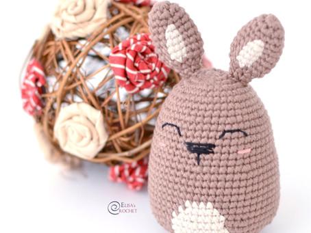 Easter Egg Bunny Free Crochet Pattern